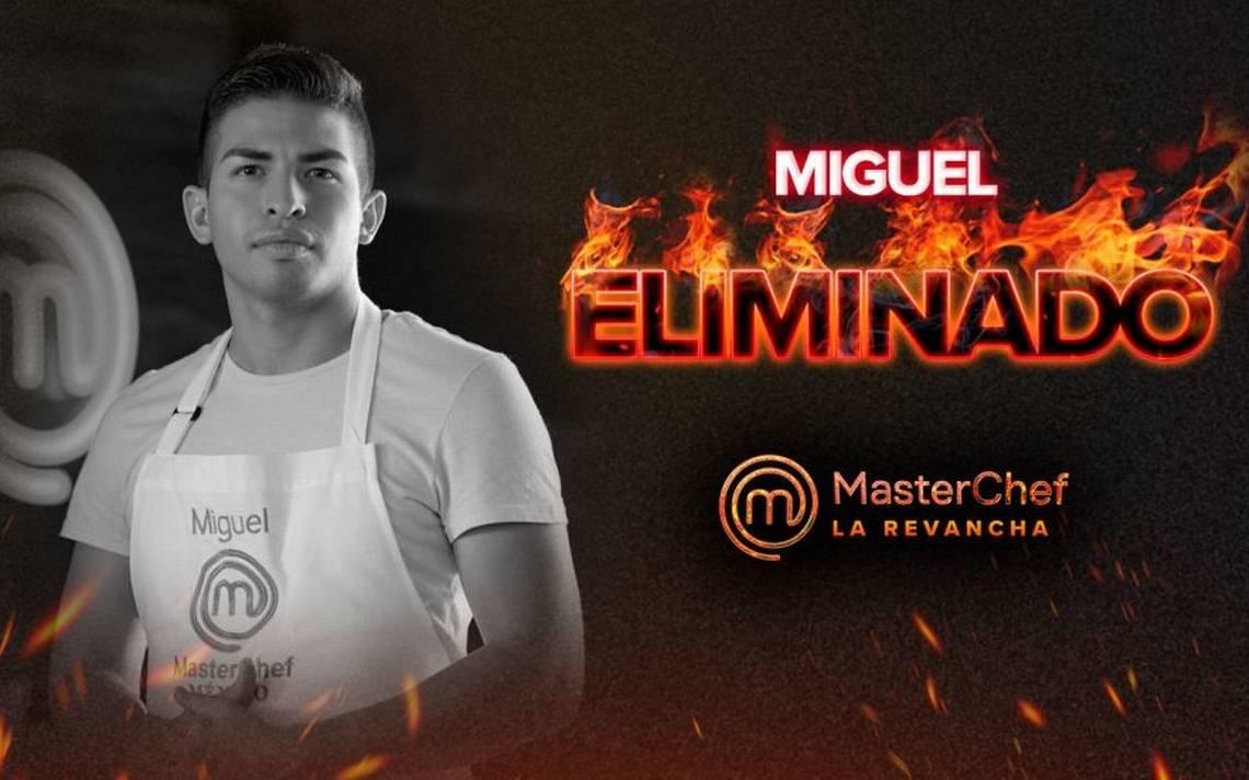 Miguel Reyes, el quinto eliminado de Masterchef La Revancha - El Sol