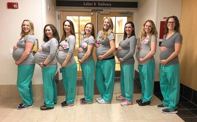 """9e7337e2d Baby boom"""" en hospital de EU  ¡nueve enfermeras están embarazadas ..."""