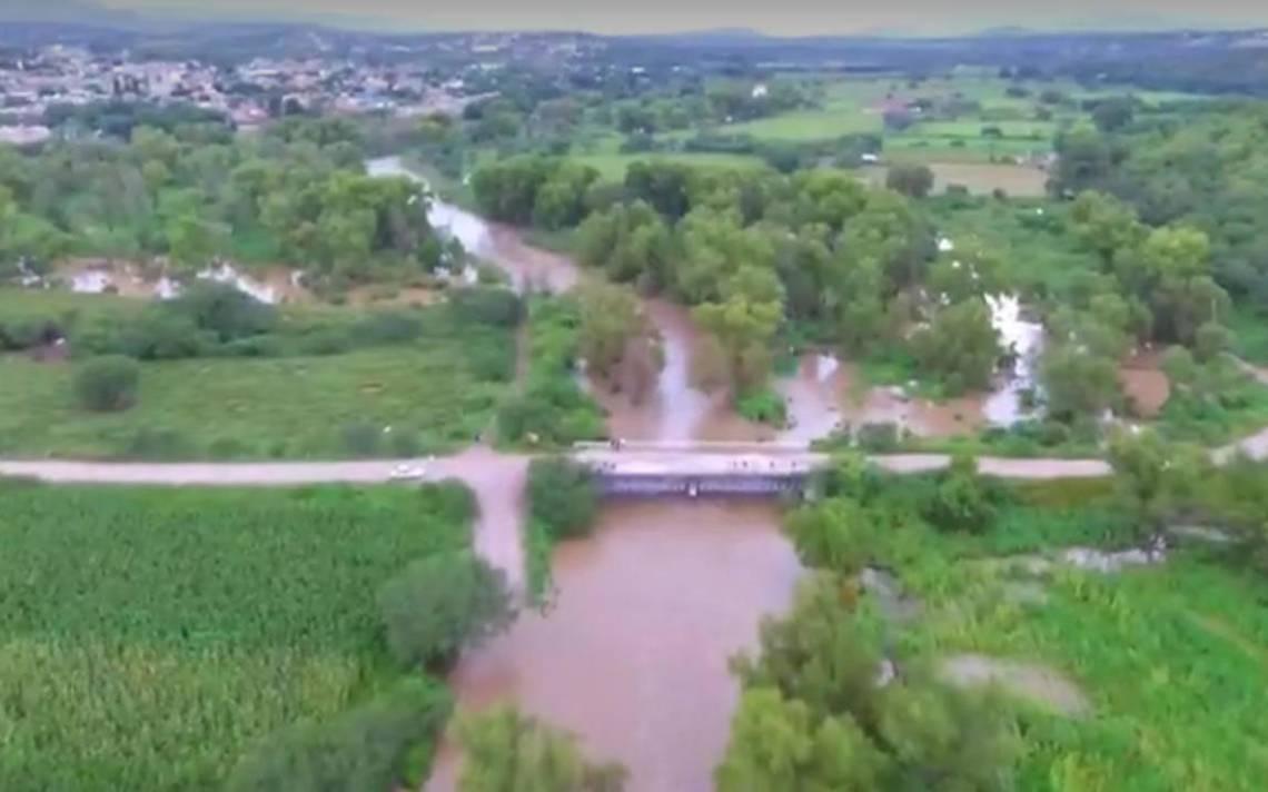 Alerta Por Creciente Del Río Juchipila El Sol De Zacatecas