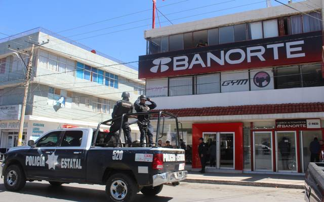 c16c319e07be Frustran robo bancario en Fresnillo - El Sol de Zacatecas